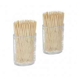Lot.2 Tonnelets 100 Cure Dents En Bois 58701058