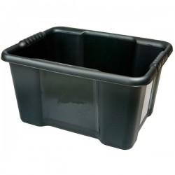 Box De Rangement 22L Dim. 43 X 34 X 22,5 Cm. En Polypropylène Coloris Noir