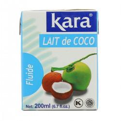 200Ml Lait De Noix Coco Kara