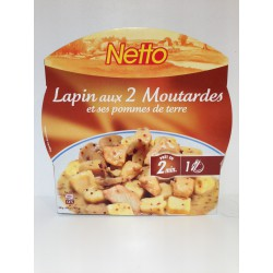 Netto Lapin/2 Moutardes 300 G