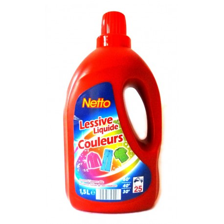 Netto Lessive Couleurs 1500Ml