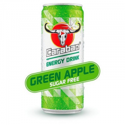 Carabao Can Green Apple Sugar Free 330ml