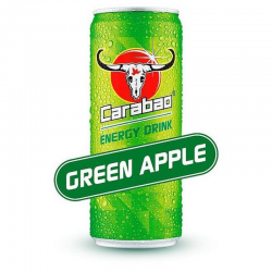 Carabao Can Green Apple 330ml