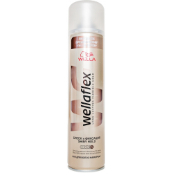Wellaflex Hairspray Shiny Ultra Strong Hold 400ml