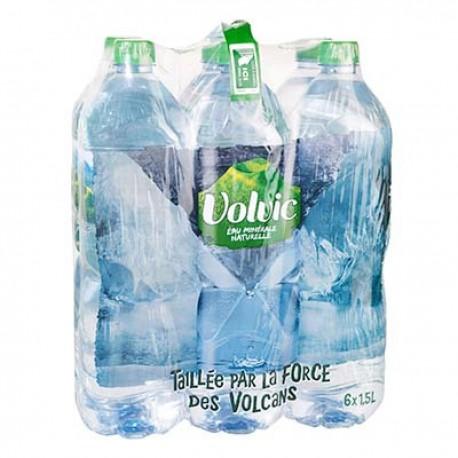 Volvic Eau Minerale Volvic Pet 6X1,5L