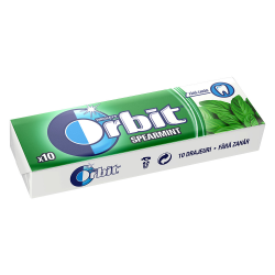 Wrigleys Orbit Spearmint Chewing Gum Full 14g
