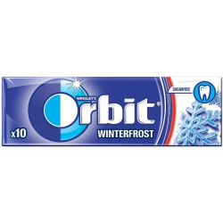Wrigleys Orbit Winterfrost Chewing Gum Full 14g