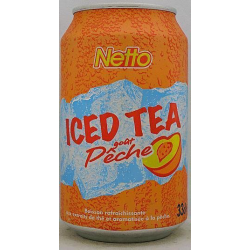 Netto Iced Tea Peche Bte 33Cl