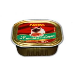 Netto Barq. Canard Lapin 100G