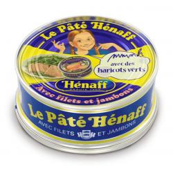 Henaff Pâté De Porc Au Sel De Guérande La Boite De 78 G