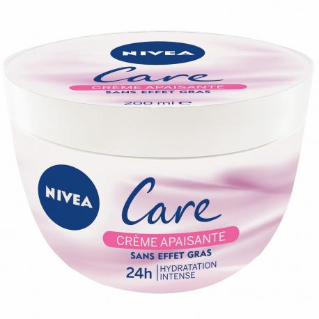 Nivea Crème Visage Corps Care Sensitive Le Pot De 200 Ml