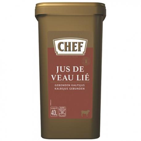 Chef Jus De Veau Lié Déshydraté Boite De 1,2 Kg