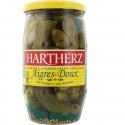 Hartherz Cornichons Aigres-Doux Au Vinaigre Et Aux Aromates 380G