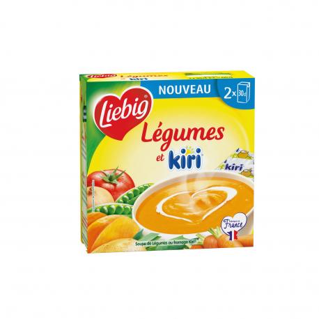 Liebig Soupe Légumes Kiri Les 2 Briques De 30Cl