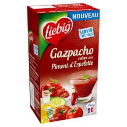 Liebig Soupe Froide Gazpacho Au Piment D'Espelette La Brique D'1L