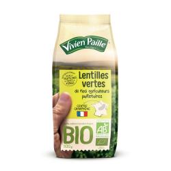 Vivien Paille Lentilles Vertes Bio Le Paquet De 500G