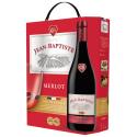 Cuvee Jean Baptiste Vin Rouge Merlot Vin De France 12,5% Vol La Fontaine De 3L