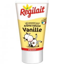Régilait Lait Concenter Sucré Goût Vanille Le Tube De 60 G