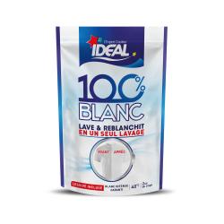 Ideal Lessive 100% Blanc Le Sachet De 300 G