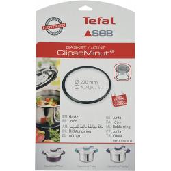 Tefal Joint Pour Clipso Minut Duo 220Mm Noir 4L / 4,5 L / 6L