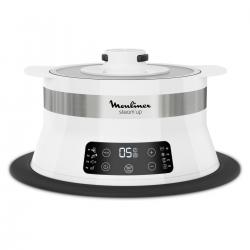Moulinex Steam Up Cuiseur Vapeur - Vj504010 8 Programmes De Cuisson, 550 W, Autonomie De 45 Min