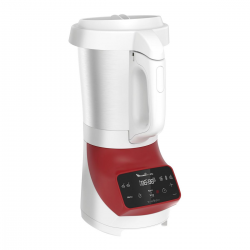 Moulinex Blender Chauffant - Lm924500 1100 W, Capacité Du Bol 2.8 L, 5 Vitesses, 3 Programmes Automatiques, Minuterie