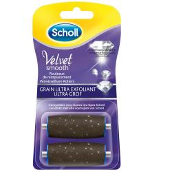 Scholl Rouleaux De Remplacement Velvet Smooth : Les 2 Recharges