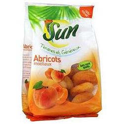 Sun Fruits Secs Fruit Sec Abricots Moelleux : Le Sachet De 250 G