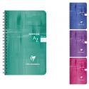 Clairefontaine Repertoire Reliure Integrale 11 X 17 100 Pages 5X5 Couverture Pelliculee 4 Couleurs Aleatoires