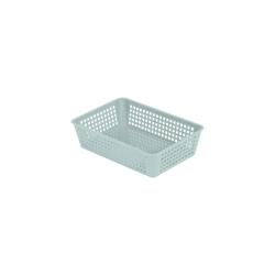 Eda Plastique Rangette Petit Modèle Vert D'Eau Dim.20X13.5X5Cm