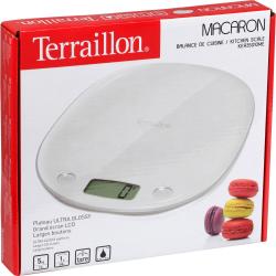 Terraillon Balance De Cuisine Macaron Meringue Portée 5Kg