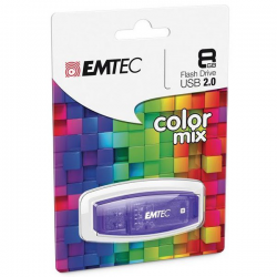 Emtec Clé Usb Eco C350 8Go 2.0 Violette