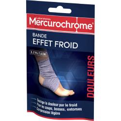 Mercurochrome Bande Effet Froid : La Bande De 3,2M