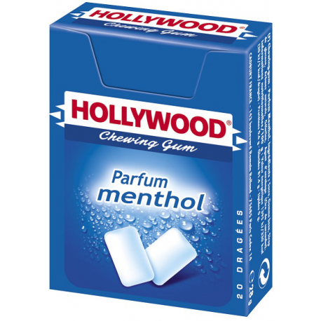 Etui Dragees Menthol Hollywood