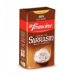 1Kg Bte Farine De Sarrasin Francine