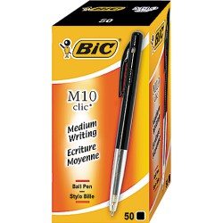 50 Stylos M10 Medium Noir