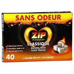40 Cubes Classique Sans Odeur Odeur Zip