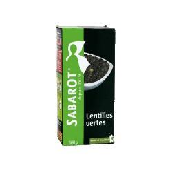 500G Lentilles Vertes France Sabarot