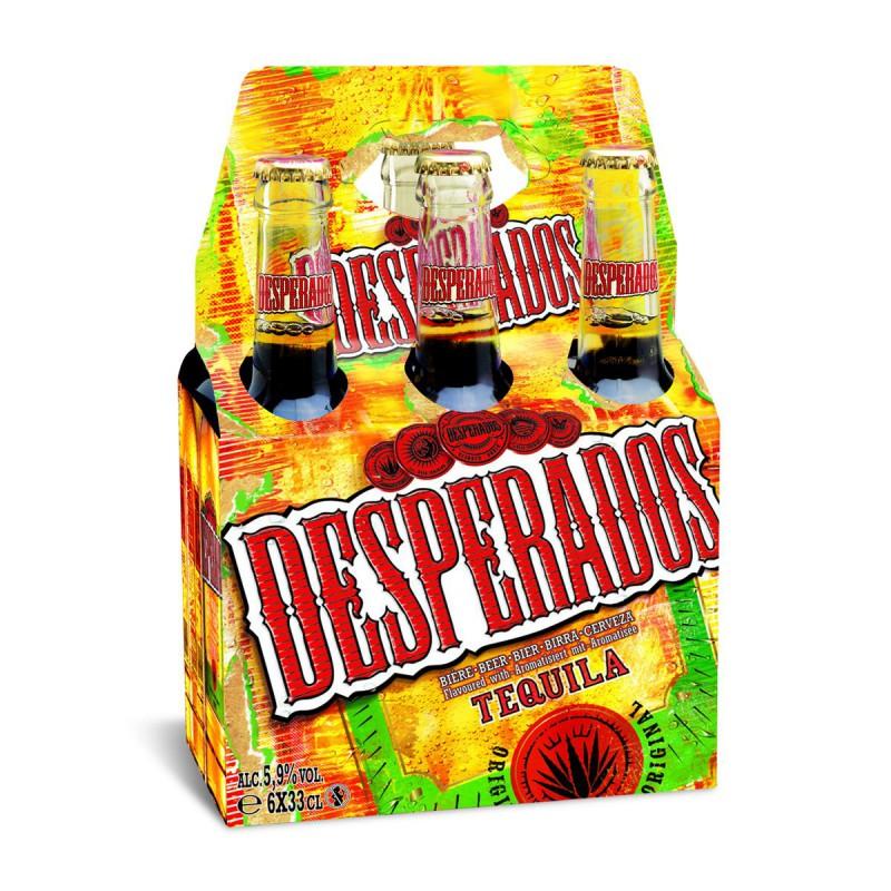Desperados Desperados Basket 6x33cl New Drh Market Sarl