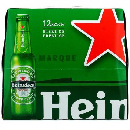 Heineken Biere Heineken Bouteille 12X25Cl