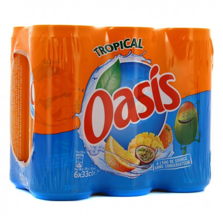 Oasis Tropical Bte Slim 6X33Cl