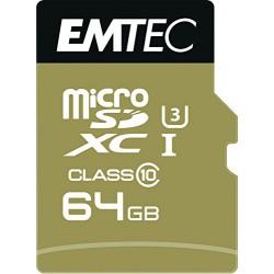 Emtec Carte Micro Sdxc 64G U3