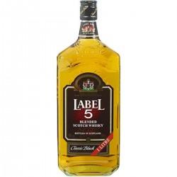 1L Scotch Whisky Label 5 40°