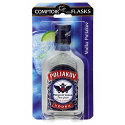 Poliakov Vodka Poliakov 37.5D Flask Sous Blister 20Cl