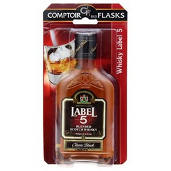 Label 5 Whisky 40%V Blister 20Cl