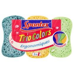 Eponges Trio Colors