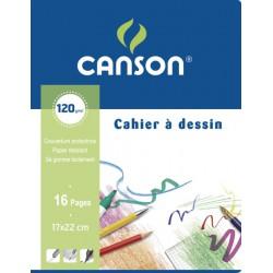 Canson Cah Dessin 16P 17X22