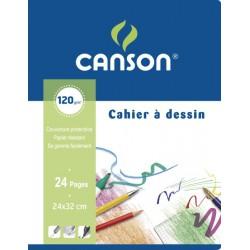 Canson Cah Dessin 24P 24X32