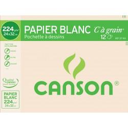 Canson 12F Dessin 24X32 224G
