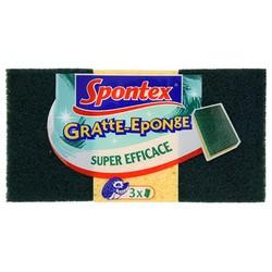 3 Gratte-Eponge Spontex